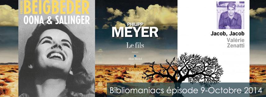 Bibliomaniacs Octobre 2014