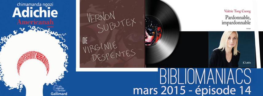 Bibliomaniacs Mars 2015