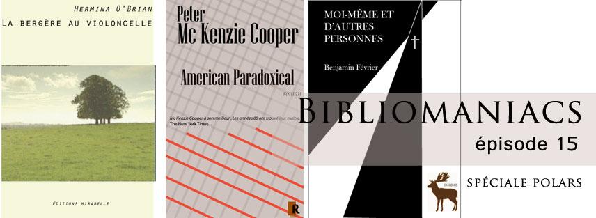 Bibliomaniacs Avril 2015