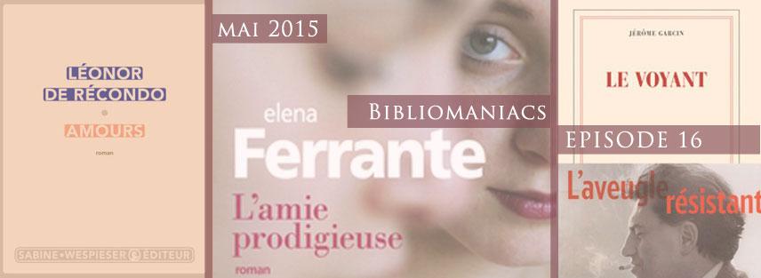 Bibliomaniacs – Mai 2015