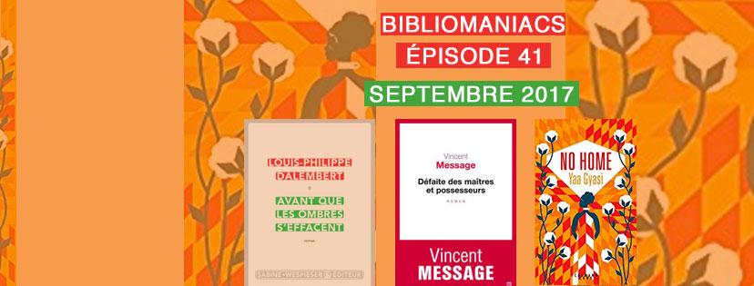 Couverture émission 41 bibliomaniacs