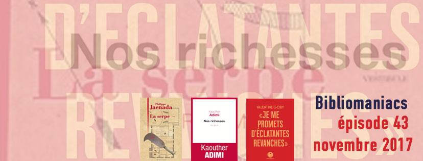 Affiche émission 43 des bibliomaniacs