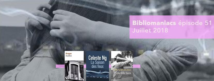 Bibliomaniacs – Juillet 2018