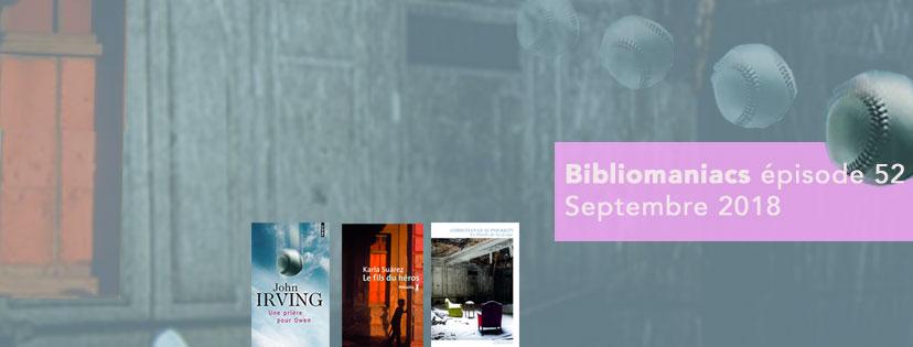 Bibliomaniacs – Septembre 2018