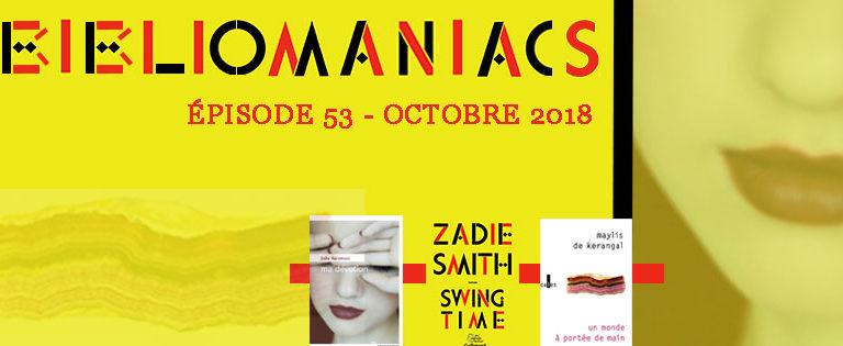 Bibliomaniacs – Octobre 2018