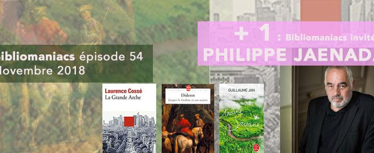 Bibliomaniacs – Novembre 2018 avec Philippe Jaenada