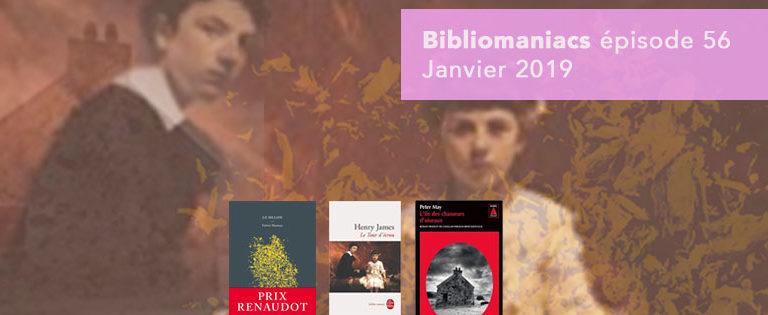 Bibliomaniacs – Janvier 2019