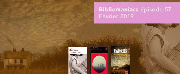 Bibliomaniacs – Février 2019