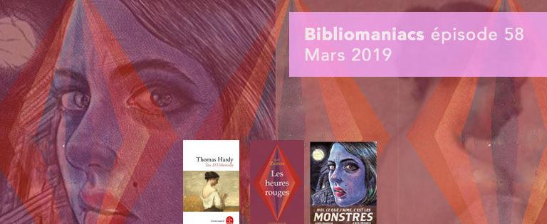 Bibliomaniacs – Mars 2019