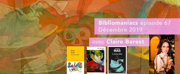 Bibliomaniacs- Décembre 2019