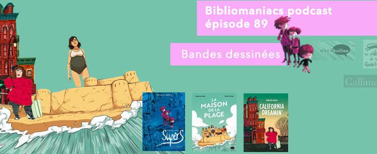 Bibliomaniacs – Emission 89 – Bandes dessinées